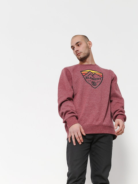 Element Sweatshirt Guard Crew (ruby wine ht)