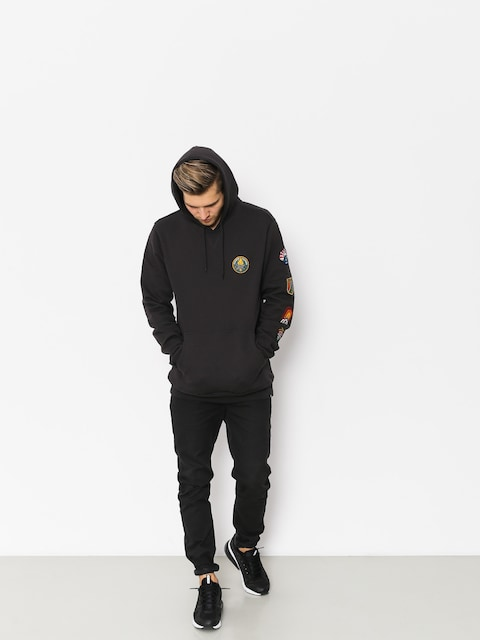 Element Ea Patched HD Hoodie (off black)