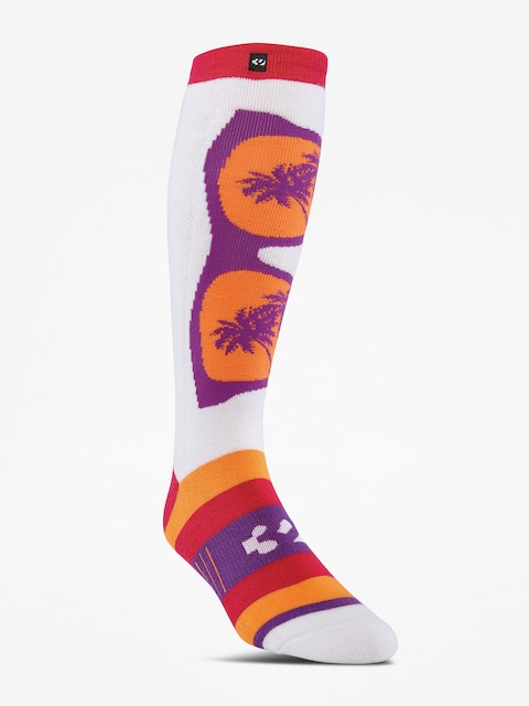 ThirtyTwo Shades Graphic Socks Wmn (magenta)