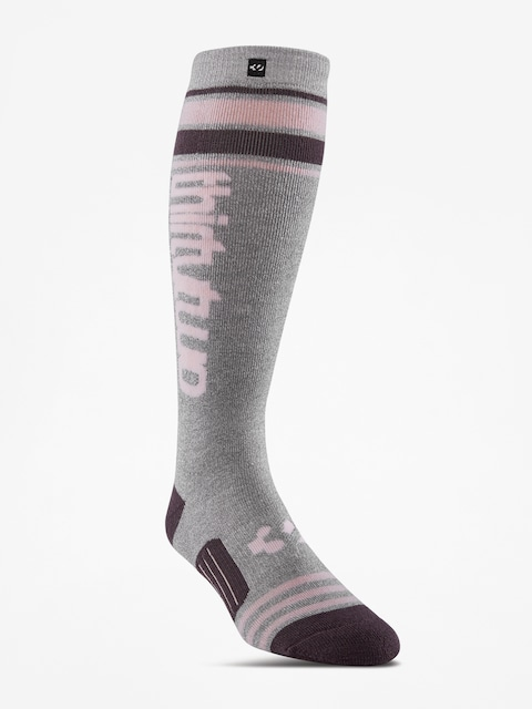 ThirtyTwo Stripe Graphic Socks Wmn (charcoal/heather)