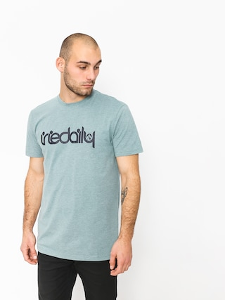 Iriedaily T-shirt No Matter 4 (mint grey)