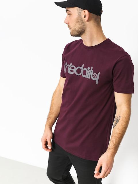 Iriedaily T-shirt No Matter 4 (red wine)