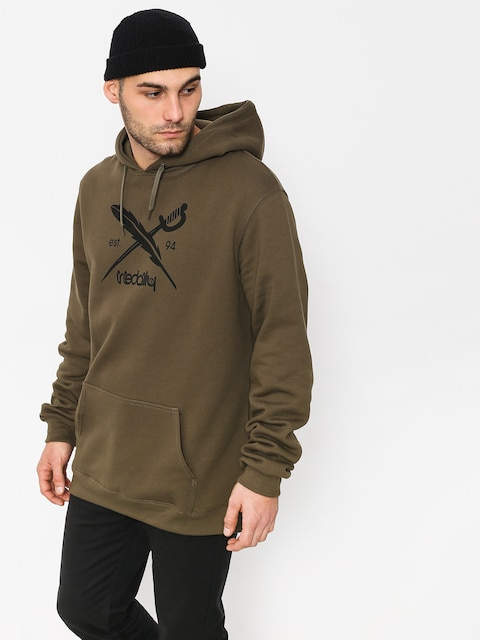 Iriedaily Hoodie Daily Flag HD (olive)