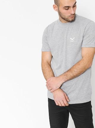 Iriedaily T-shirt Chestflag (grey melange)