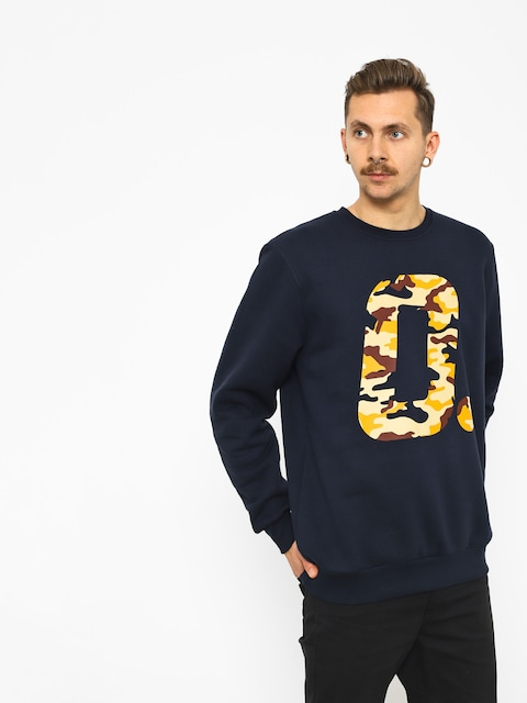 Prosto Omash Crewneck Sweatshirt (dark navy)