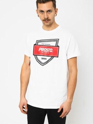 Prosto Badge T-shirt (snow)