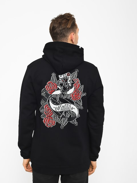 Malita Hoodie Pin Up (black)