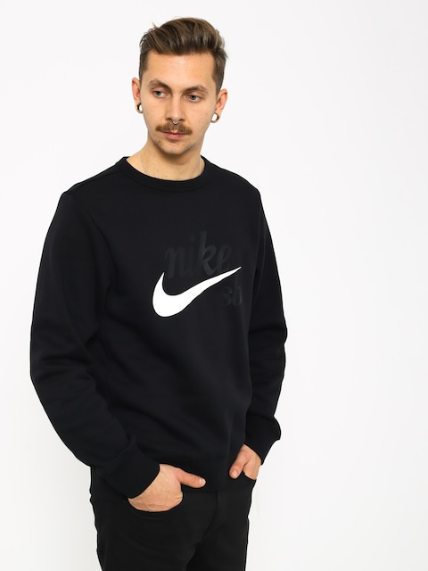 Nike SB Sb Top Icon Craft Longsleeve (black/white)