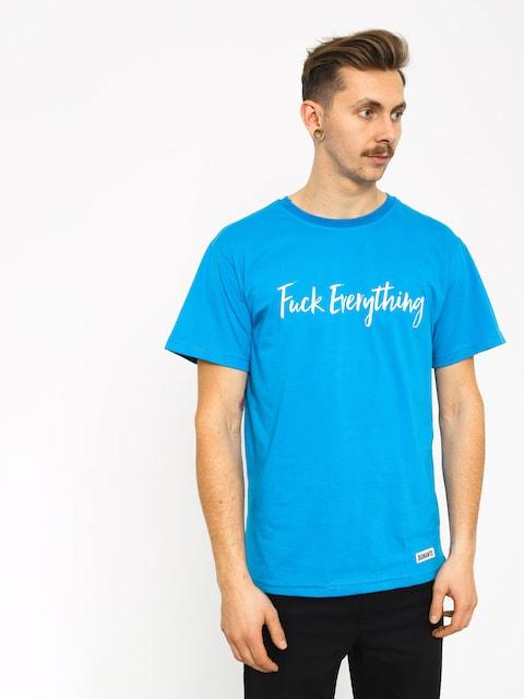 Diamante Wear Fuck Everything T-shirt (blue)