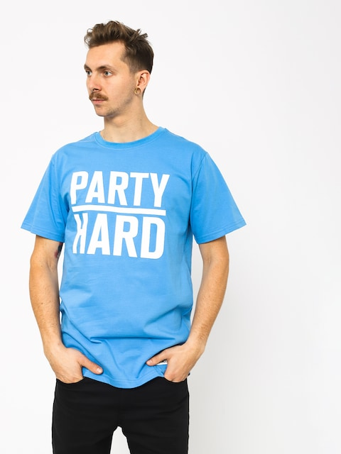 Diamante Wear Party Hard T-shirt (royal)