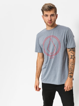 Volcom T-shirt Pinline Stone Hth (atb)