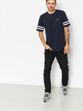 Brixton T-shirt Potrero II Hnly (navy/white)