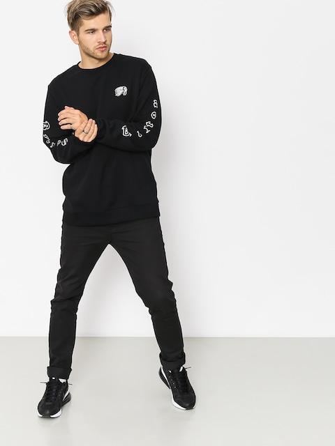 Brixton Sweatshirt Primo Crew (black)