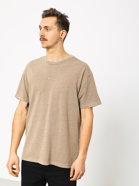 RVCA Os Pigment T-shirt (dark khaki)
