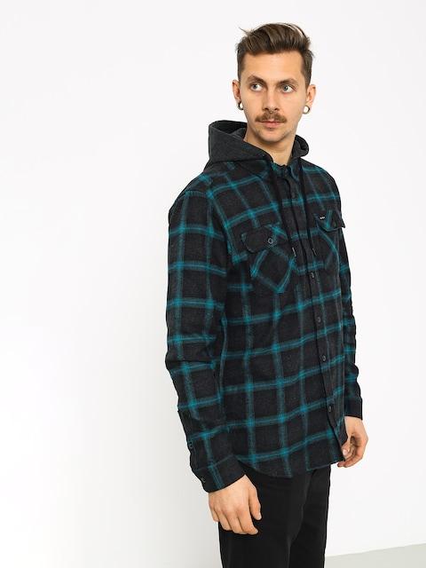 RVCA Good Hombre Ls Shirt (charcoal heather)