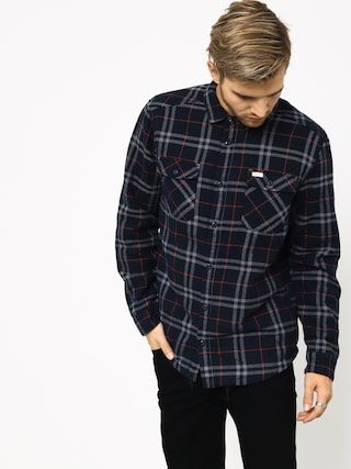 RVCA Ar Plaid Ls Shirt (new navy)