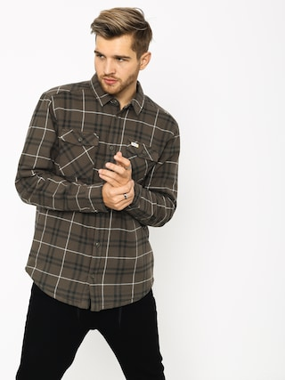 RVCA Ar Plaid Ls Shirt (olive)