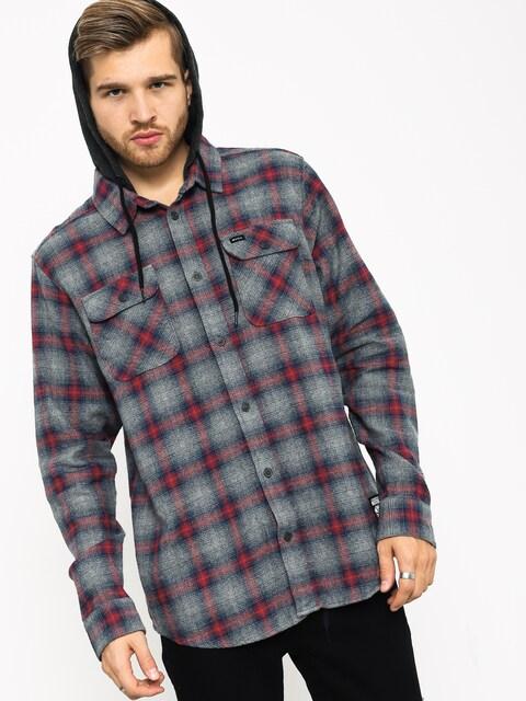 RVCA Good Hombre Ls Shirt (grey noise)
