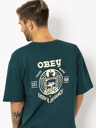 OBEY Obey Dissent & Defiance Eagle T-shirt (pine)