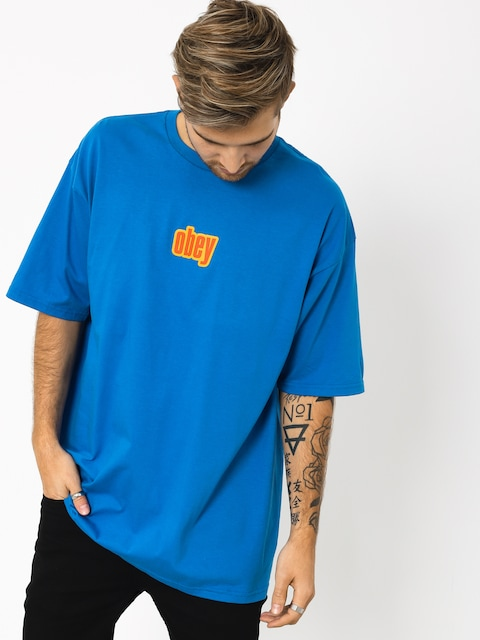 OBEY Obey 1990 T-shirt (royal blue)