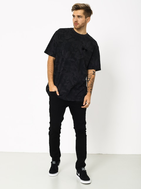 Element Griffin Leaf Camo T-shirt (flint black)