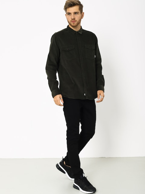 Element Pembroke Ls Shirt (forest night)