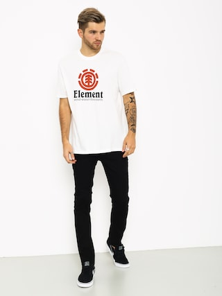 Element Vertical T-shirt (optic white)