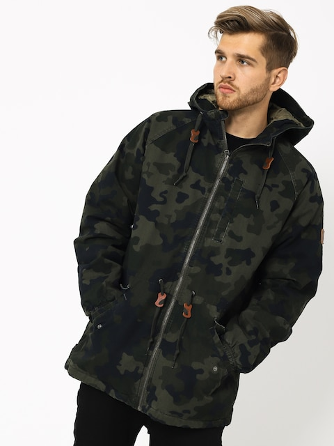 Element Stark Raglan Jacket (bark camo)