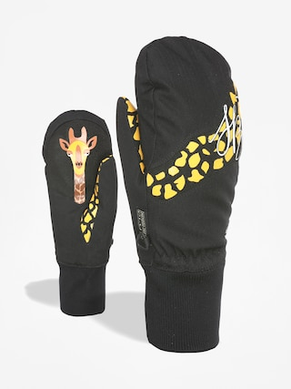 Level Bliss Coral Chic Mitt Gloves Wmn (black)