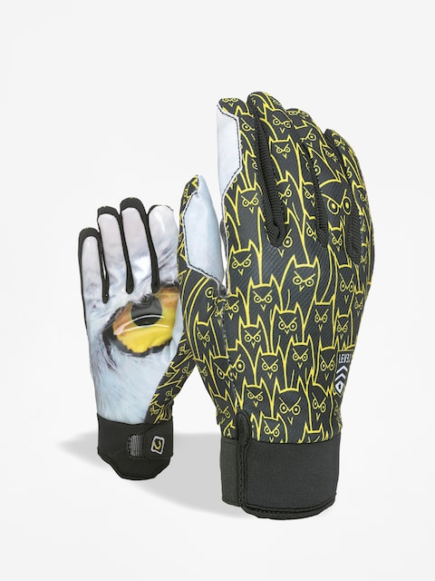 Level Pro Rider Gloves (logos)