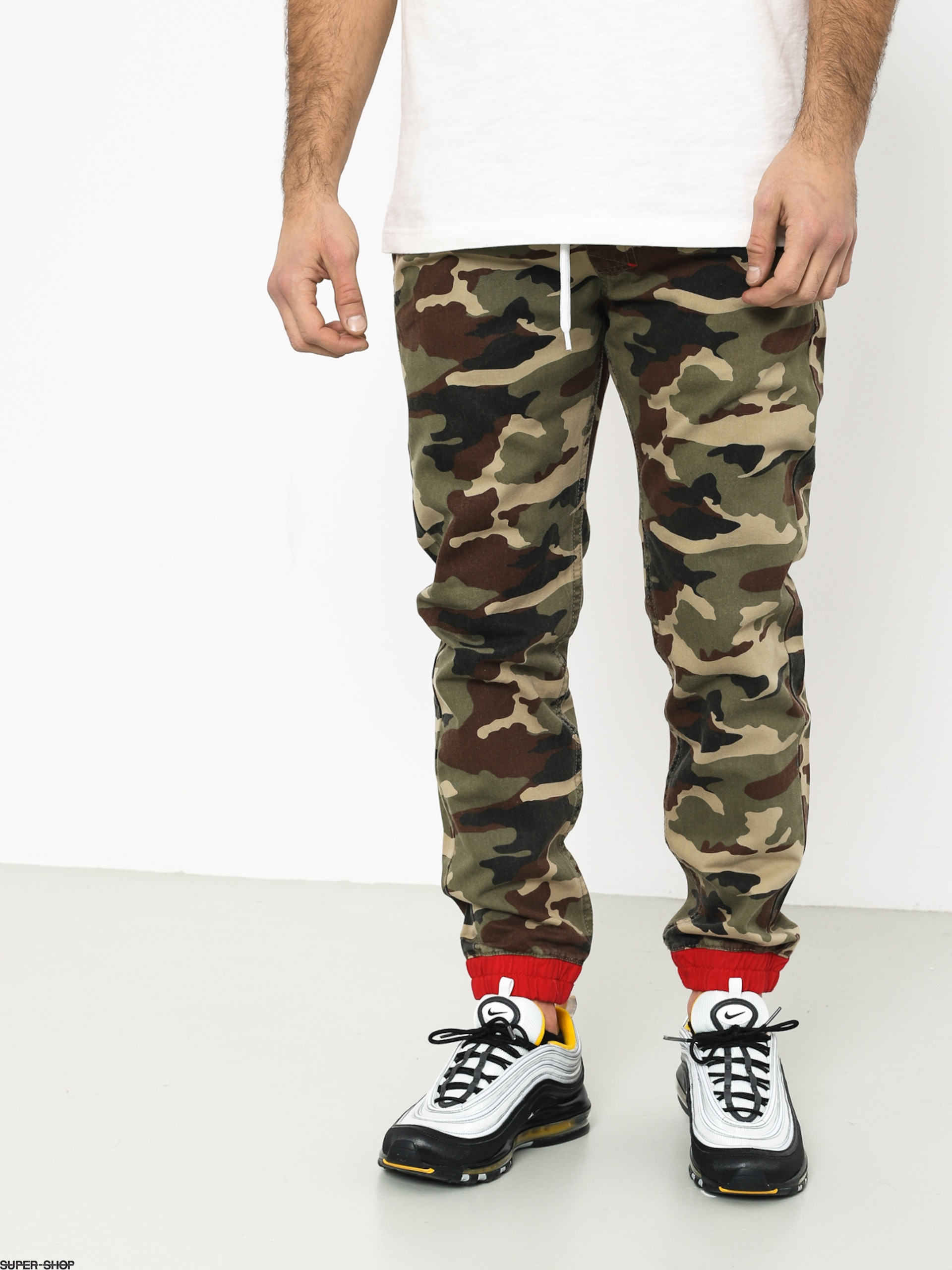 special section quite nice good out x MassDnm Truman Joggers Sneaker Fit Pants (woodland camo)