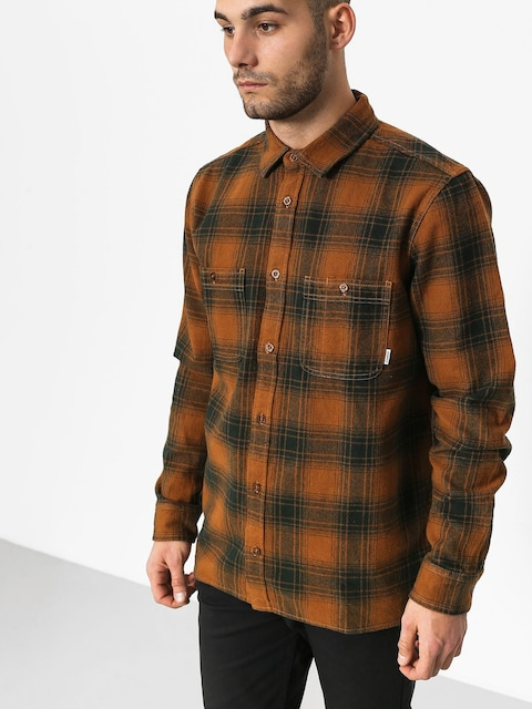 Element Shirt Miller Ls (goldenbrown)