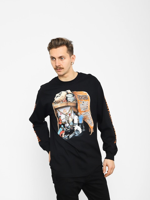 DGK Hard Knocks Longsleeve (black)