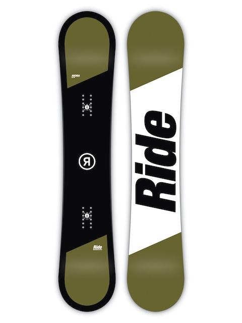 Ride Snowboard Agenda (white/black)