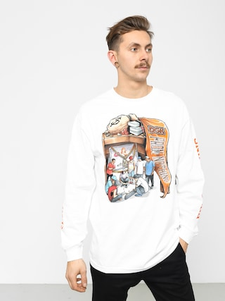 DGK Hard Knocks Longsleeve (white)