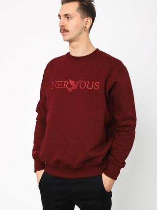 Nervous Crew Classic Sweatshirt (marun)