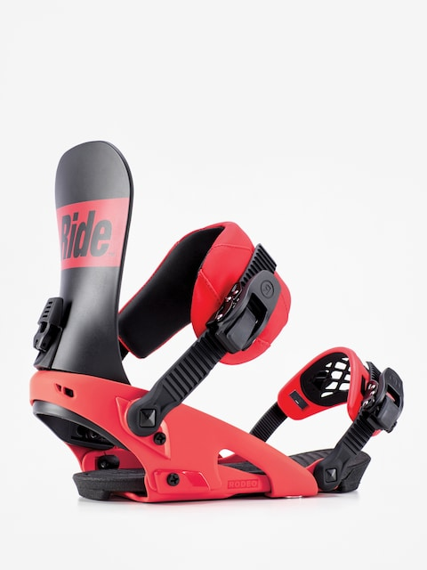 Ride Rodeo Snowboard bindings (red)