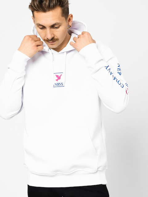 Nervous Frame HD Hoodie (white)