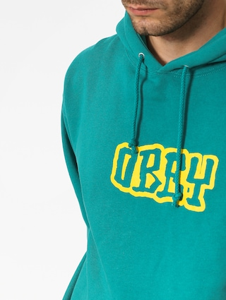 OBEY Better Days Outline HD Hoodie (teal blue)