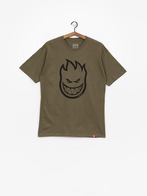 Spitfire Big Head T-shirt (military green)