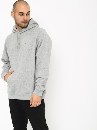 Brixton B Shield Intl HD Hoodie (heather grey)