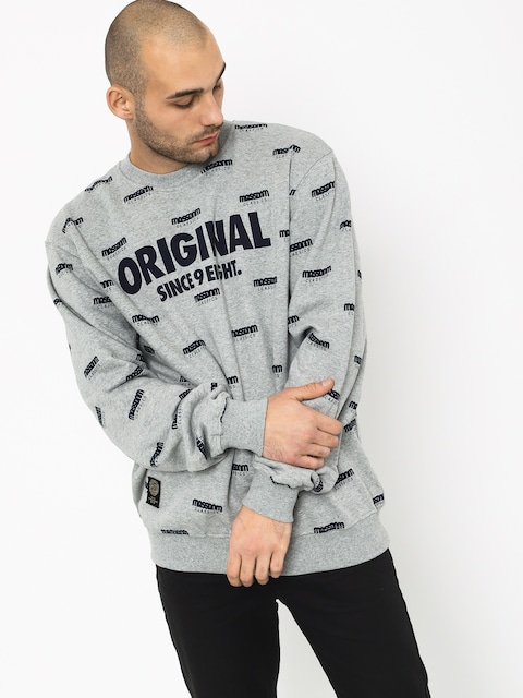MassDnm Original Sweatshirt (light heather grey)