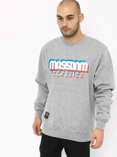 MassDnm Sacrifice Sweatshirt (light heather grey)