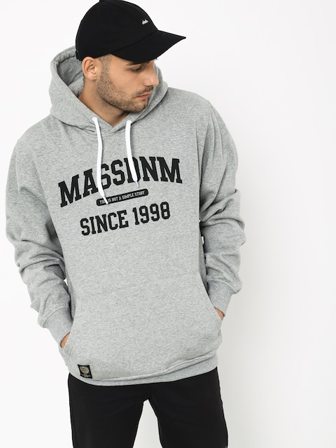 MassDnm Campus HD Hoodie (light heather grey)