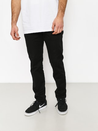 Malita Pants Chino Low Stride (black)