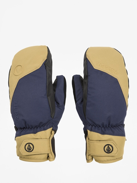 Volcom Stay Dry Gore Mitt Gloves (nvy)