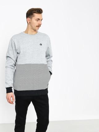 Volcom Threezy Crew Sweatshirt (gry)