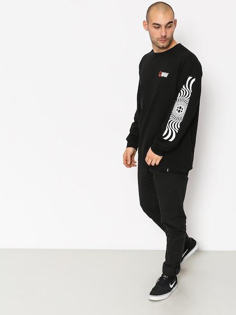 HUF Spitfire Swirls Longsleeve (black)