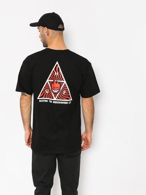 HUF Spitfire Tt T-shirt (black)