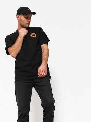 HUF Spitfire Fire Swirl T-shirt (black)